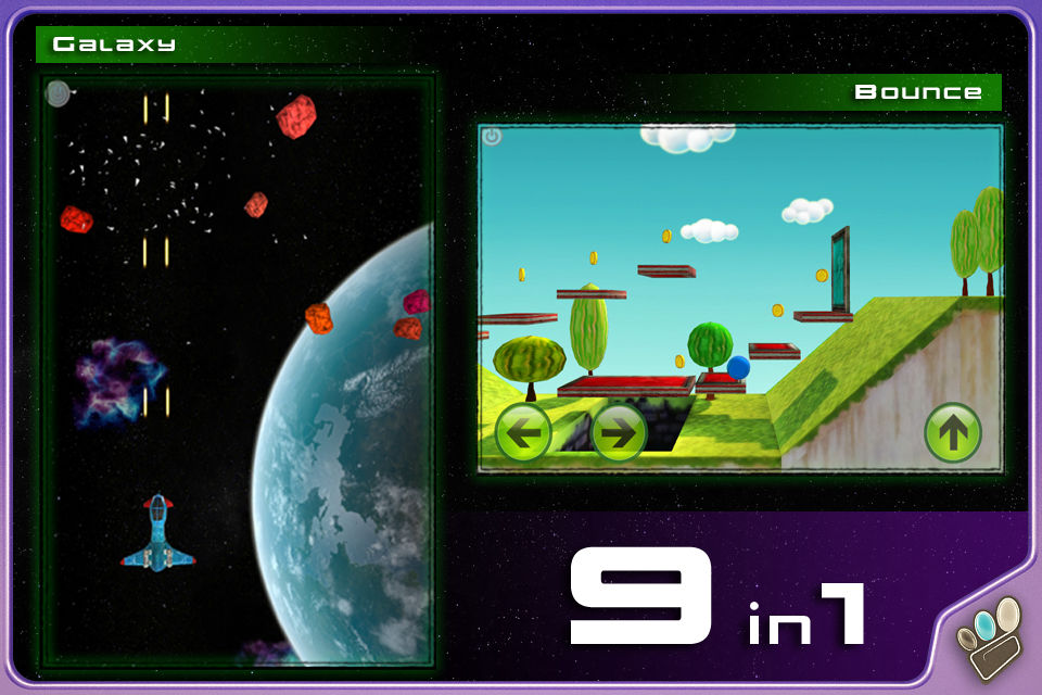 Gripati 9in1 Prototype Mobile Game iOS Android Apple Appstore Google Play Store Screenshots