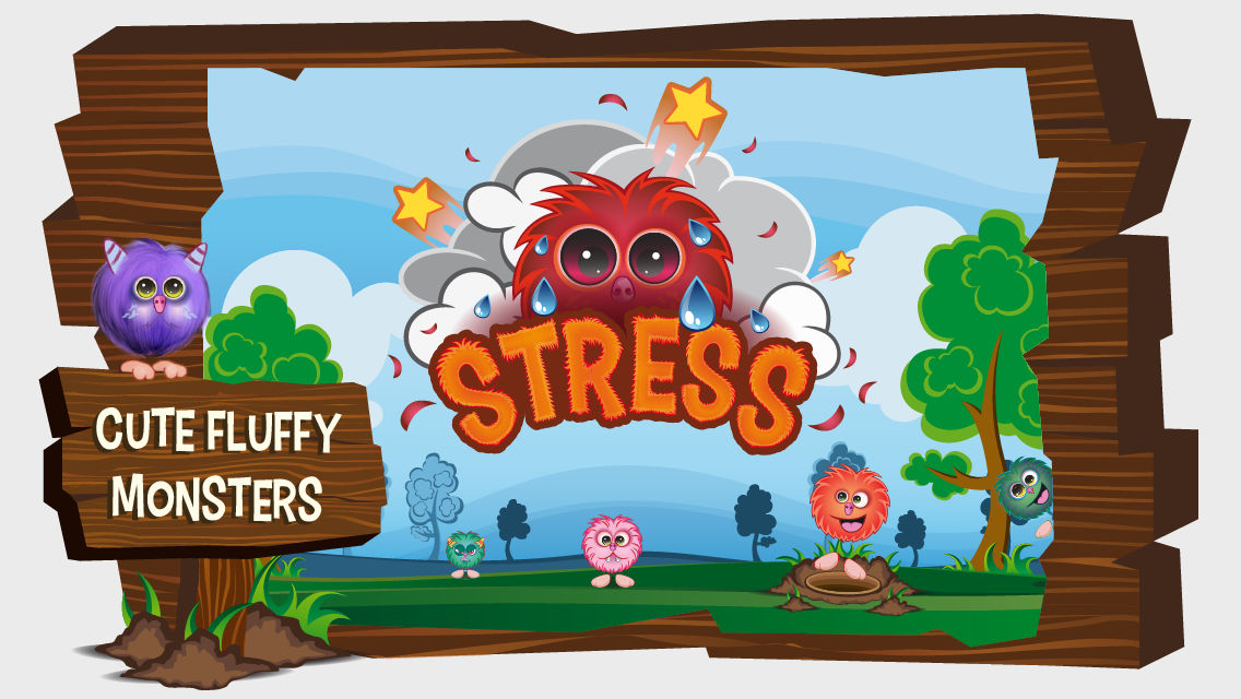 Stress Monsters Mobile Game iOS Android Apple Appstore Google Play Store Screenshots