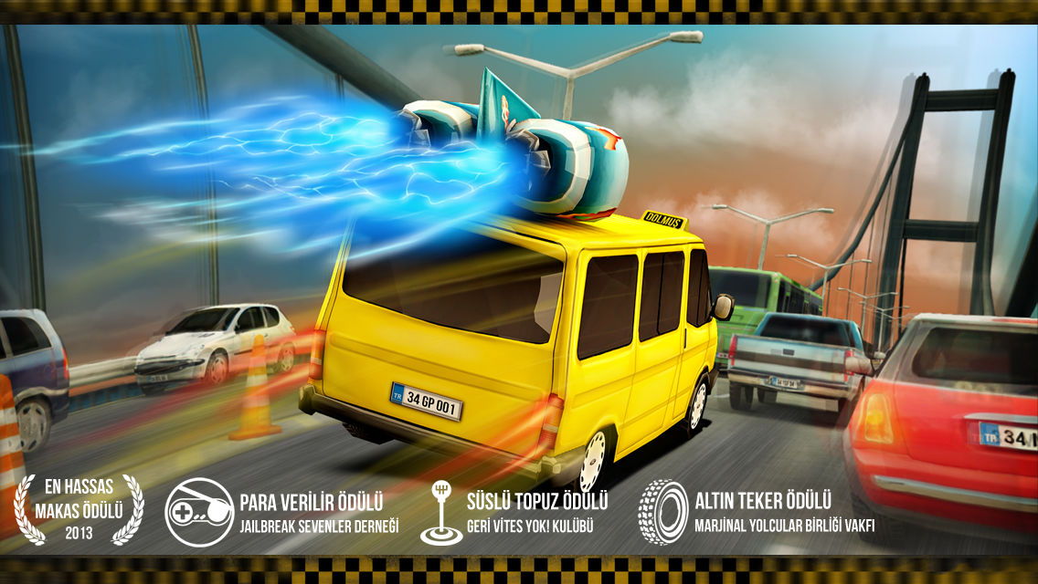 Dolmus Driver Racer Traffic Mobile Game iOS Android Apple Appstore Google Play Store Screenshots