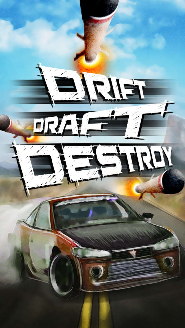 Drift Draft Destroy Online Multiplayer Race Fun Run Mobile Game iOS Android Apple Appstore Google Play Store Screenshots